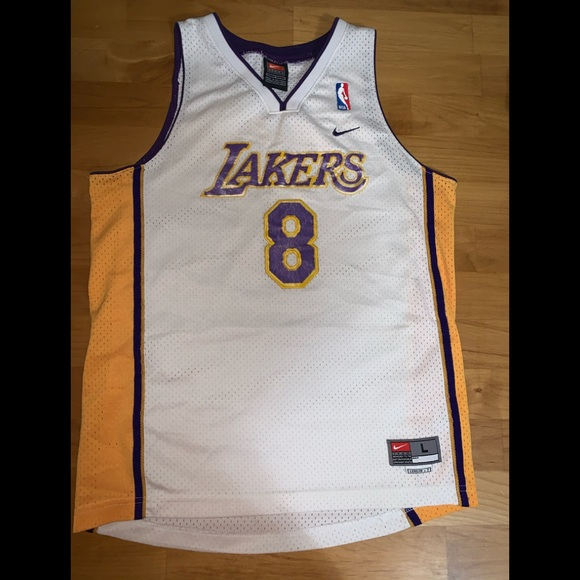 Vintage Kobe Bryant kids jersey NBA large 2